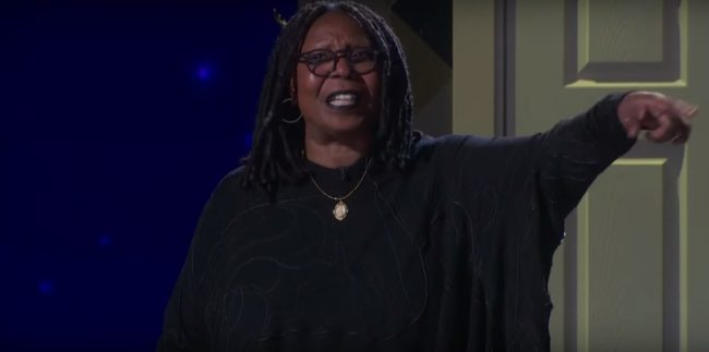 whoopi goldberg at the tony awards 2017