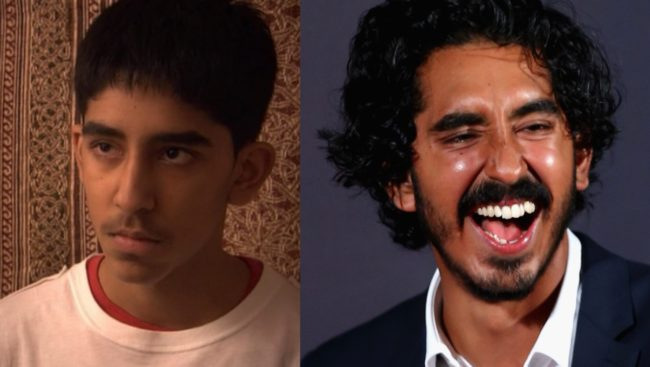 Dev Patel then and now
