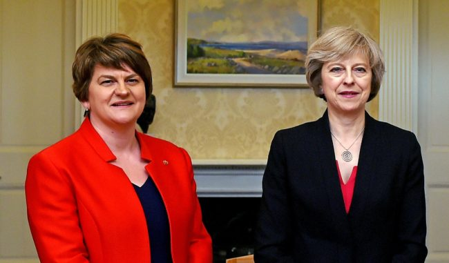 Varadkar huffing in the corner will not help Brexit, says DUP