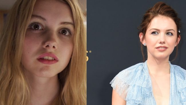 Hannah Murray then and now