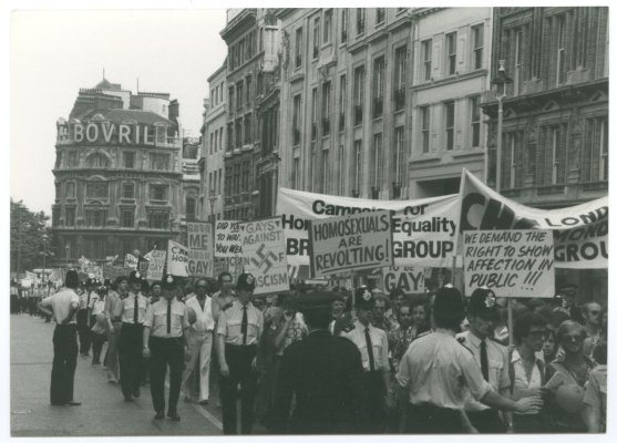 London Pride in 1974