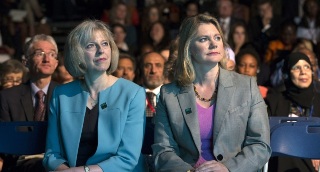 Theresa May, Justine Greening (Getty)