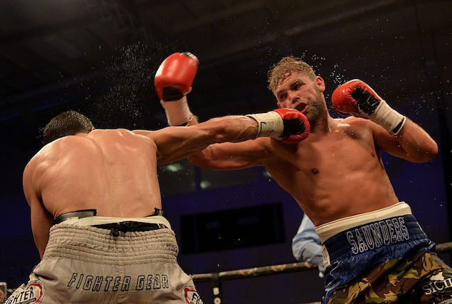 Billy Joe Saunders boxing