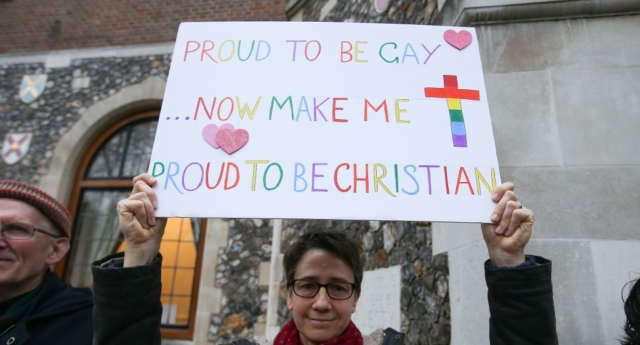 Church blessing for transgender people