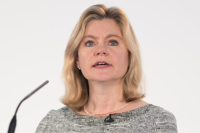 Justine Greening getty