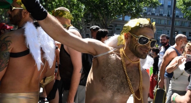 World Pride takes place in Madrid this weekend (Images: Getty - under licence)