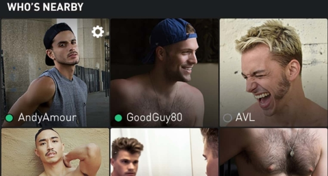 Grindr User Search
