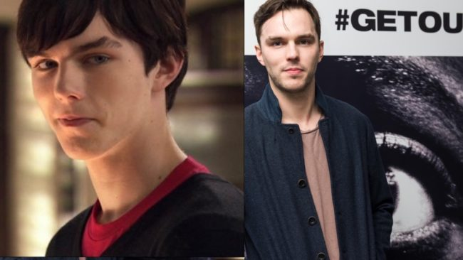 Nicholas Hoult then and now