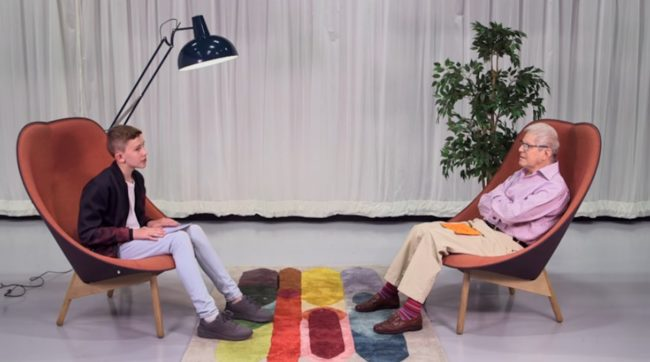 WATCH: 78-year-old gay man sits down with 13-year-old gay