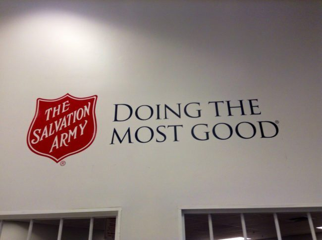 Ring in the new year with The Salvation Army