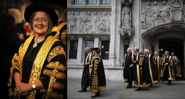 Baroness Hale appointed as UK's first female top judge