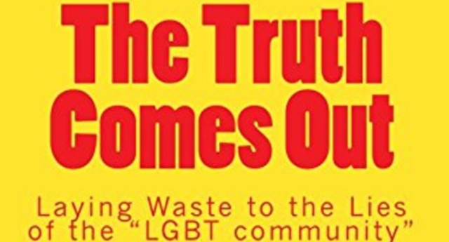 The book makes outrageous claims about the LGBT community