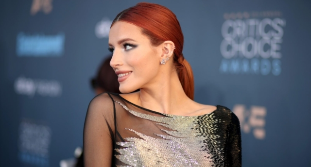 Actress Bella Thorne refutes claim she was masturbating on Snapchat