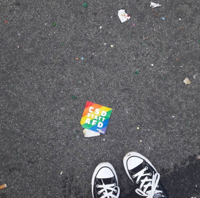 """""""CSD instead of AfD"""""""