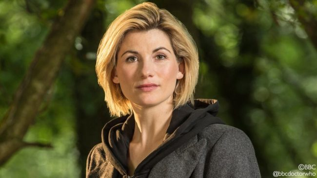 Jodie Whittaker is The Doctor in Doctor Who