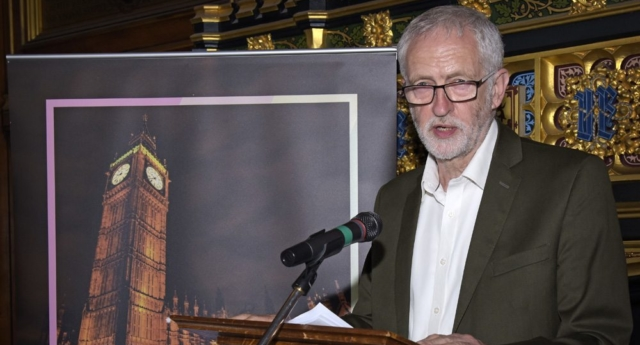 Jeremy Corbyn at the PinkNews Summer Parliamentary Reception (ChrisJepson.com)