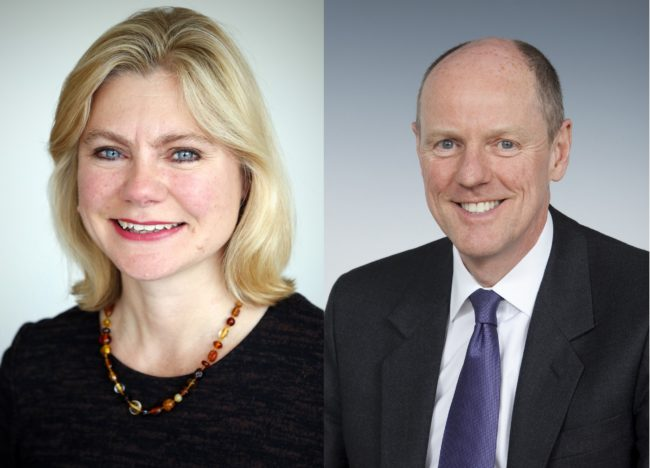 nick gibb and justine greening