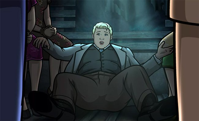 Pam Poovey in Archer