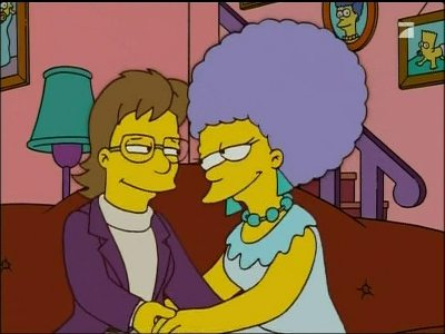 Lesbian Simpsons photo Patty and girlfriend