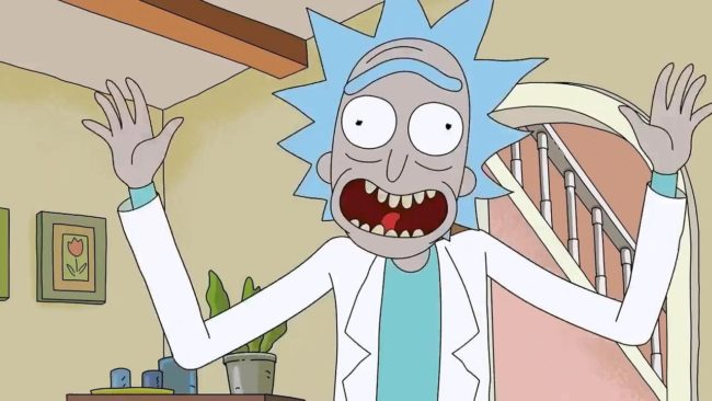 Rick Sanchez in Rick and Morty