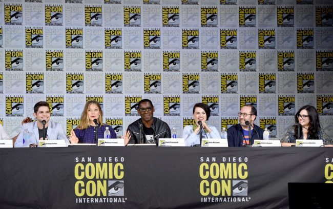 Supergirl panel at San Diego Comic Con on Saturday