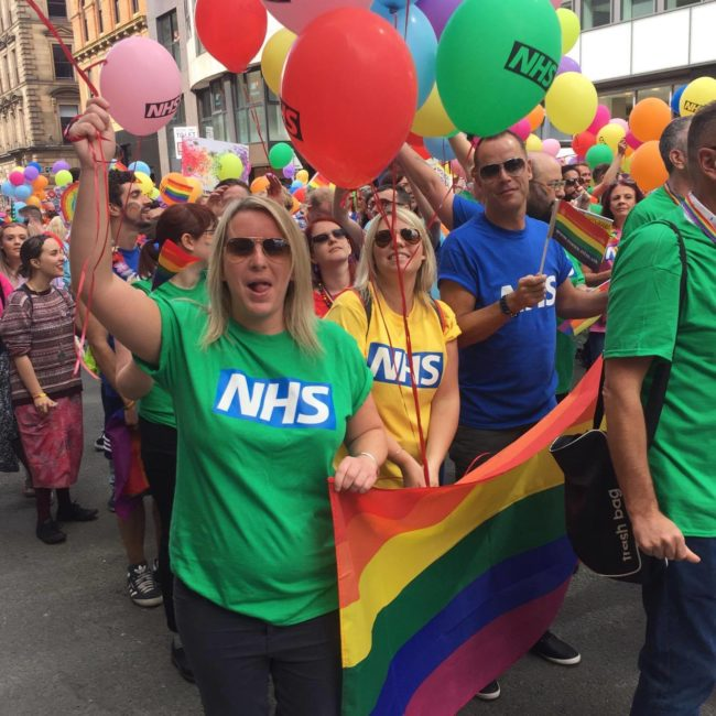NHS at Manchester Pride