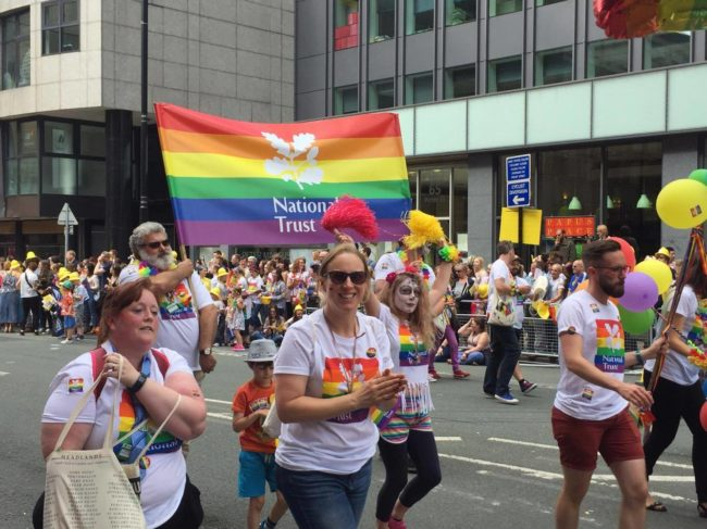 National Trust at Manchester Pride