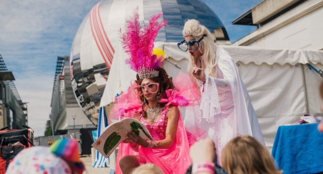 Drag Queen Story Time at Bristol Pride (Thomas Canham)