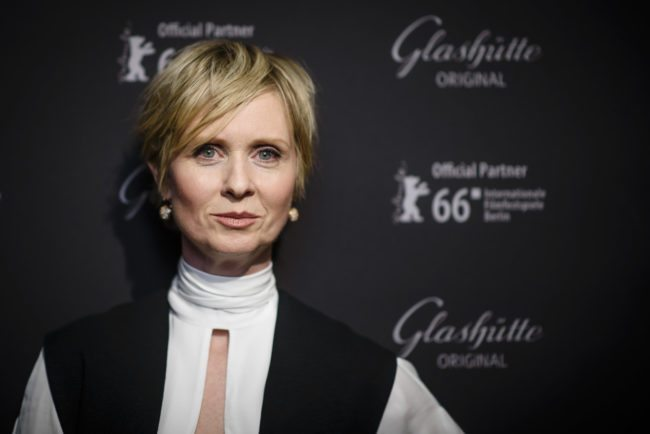 'Sex and the City' Star Cynthia Nixon Eyeing Run for Governor