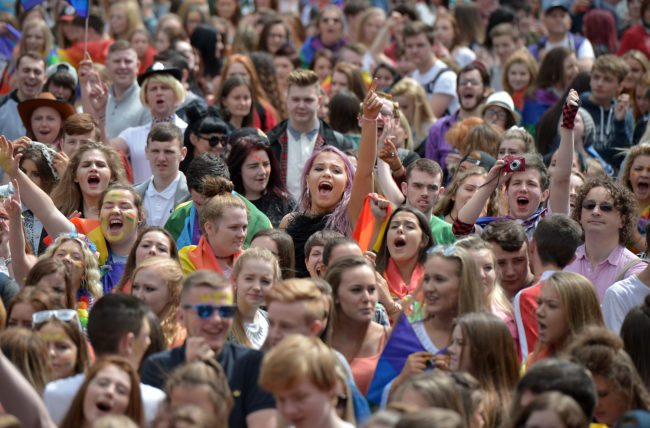 Belfast Celebrates Gay Pride