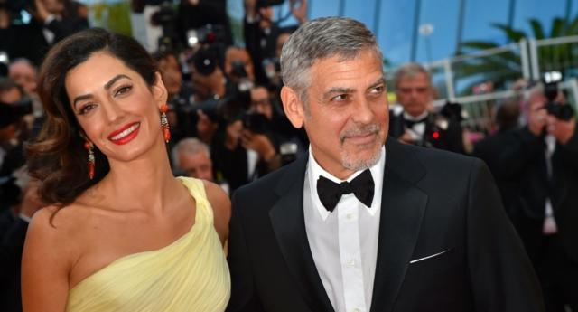 George and Amal Clooney donate £780000 to fight hate groups