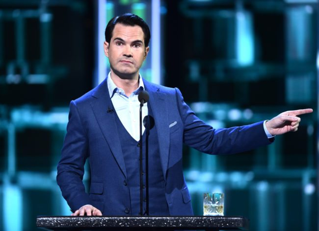 Jimmy Carr speaks at the Comedy Central Roast of Rob Lowe