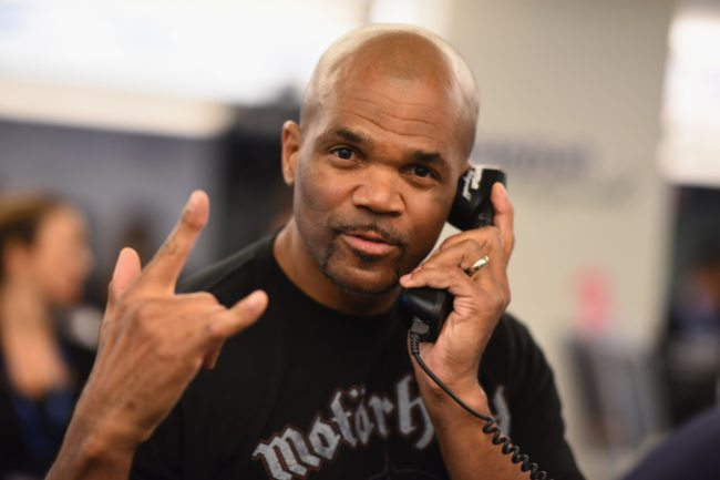 DMC at a charity day, New York