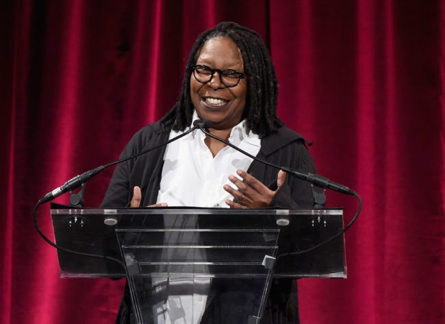 Whoopie Goldberg at the FGI rising star awards