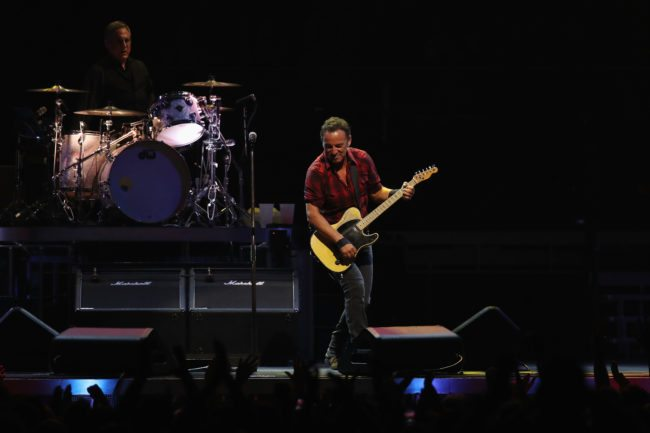 Bruce Springsteen performs in Sydney, 2017