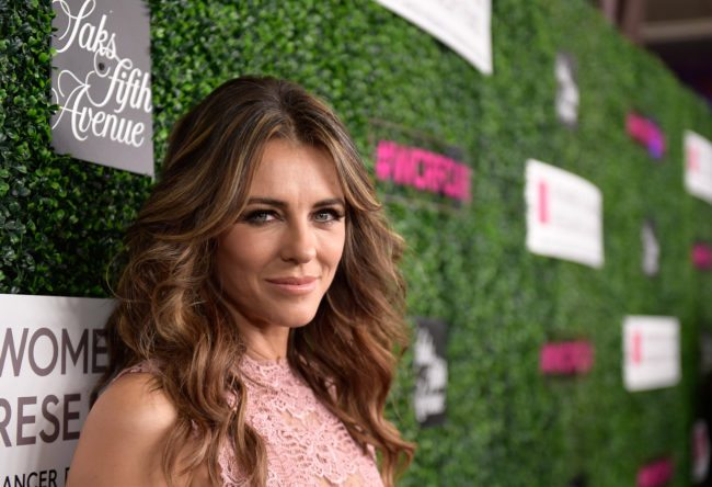 Elizabeth Hurley at an event, 2017