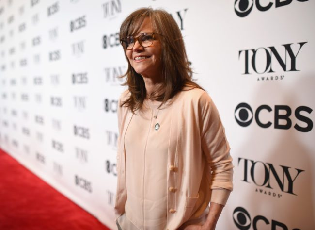 Sally Field attends the 2017 Tony Awards