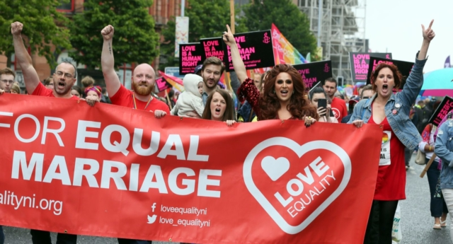 Couples left devastated as judge upholds North's gay marriage ban
