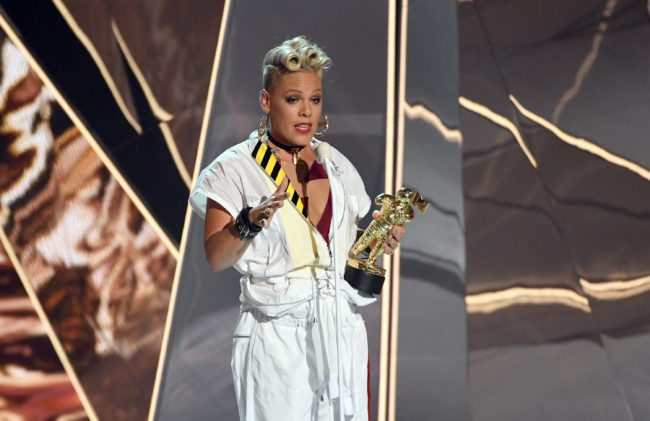 getty p!nk vmas