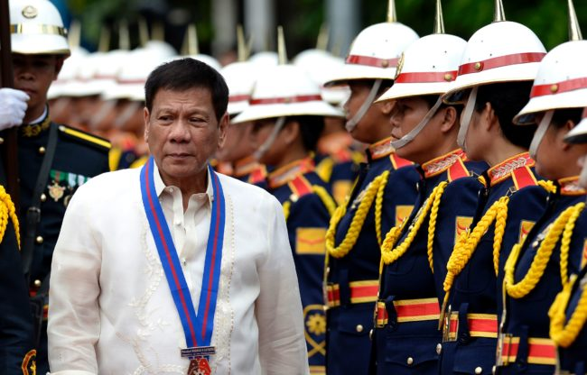 Duterte's government has killed thousands of the urban poor (Getty)