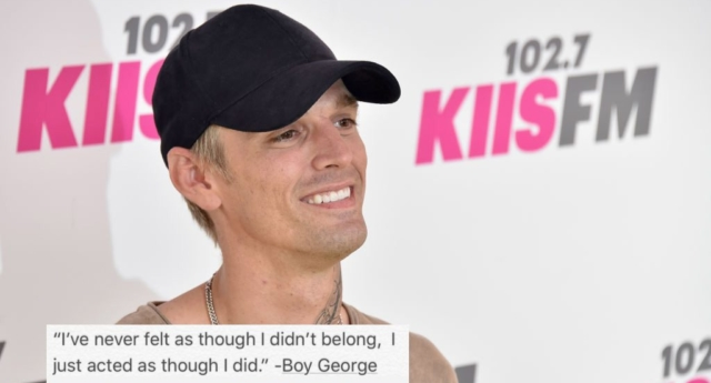 Aaron Carter Comes Out As Bisexual in Heartfelt Note