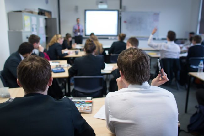 A British classroom (Matt Cardy/Getty Images)