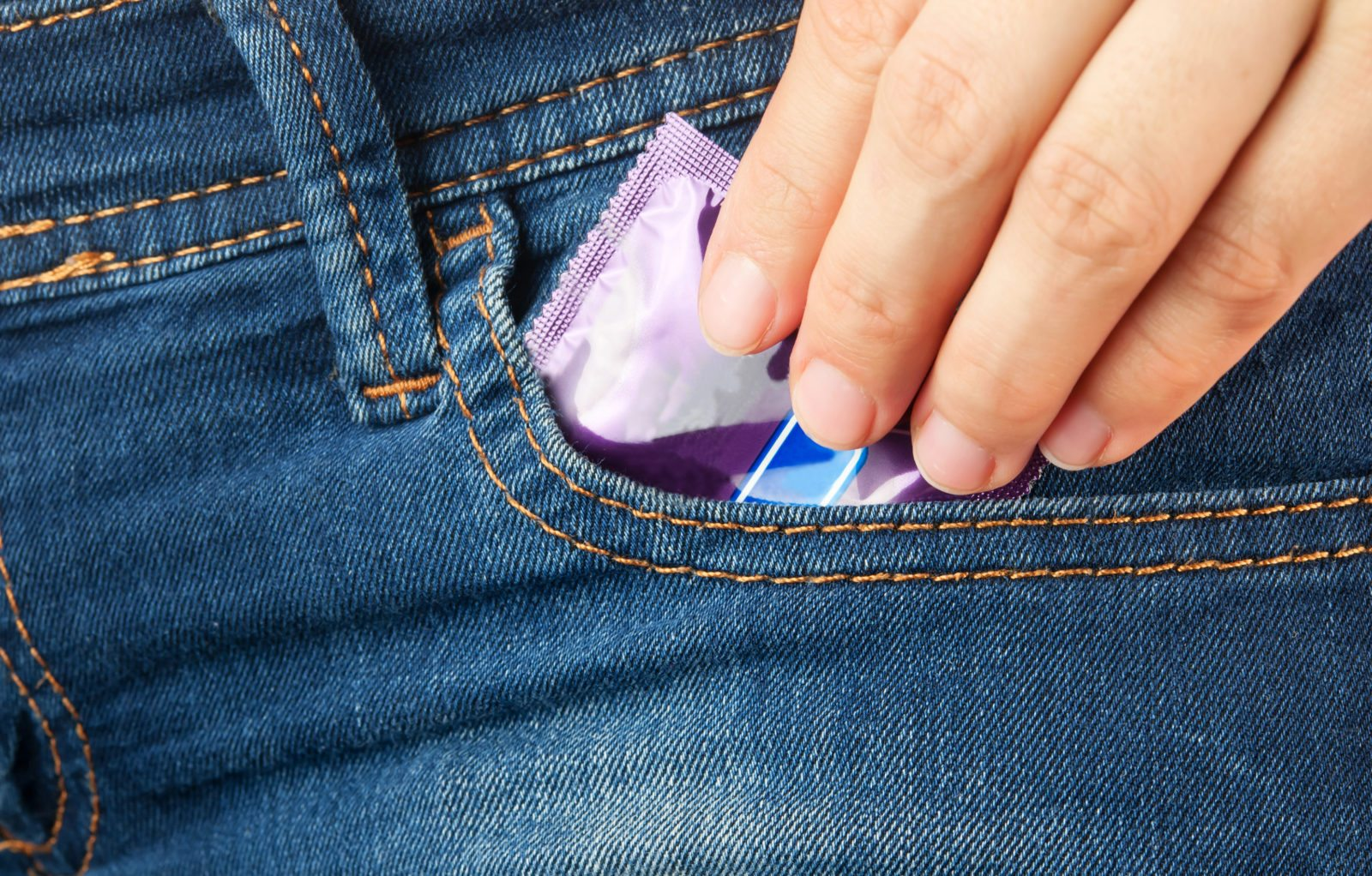 Condoms for safer sex