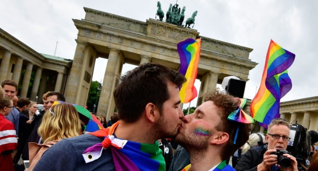 Same-sex marriage (Getty)
