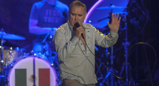 Morrissey announces new album 'Low In High-School' - and a huge gig