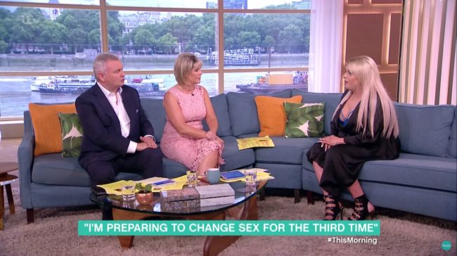 Ria Cooper on This Morning (ITV)