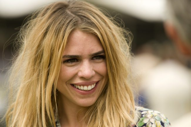 CHICHESTER, ENGLAND - JULY 29:  Actress Billie Piper at Goodwood racecourse on July 29, 2011 in Chichester, England. (Photo by Alan Crowhurst/Getty Images)