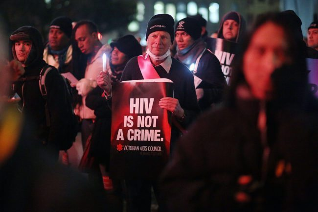 AIDS Conference Holds Candlelight Vigil For Victims Of MH17