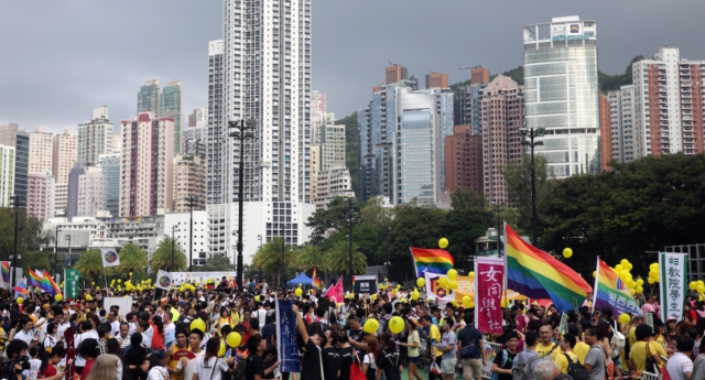 United Kingdom woman wins landmark Hong Kong same-sex marriage residency case