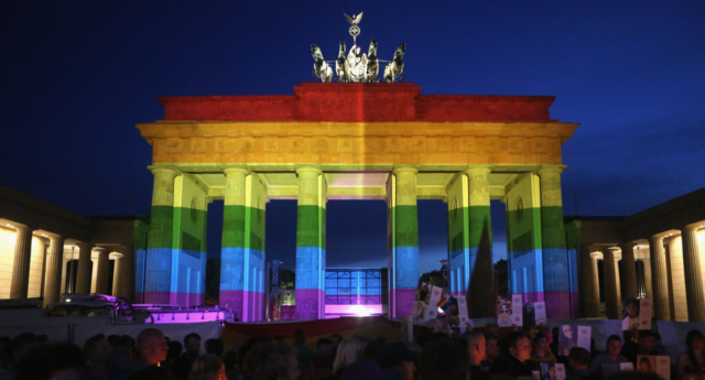 Germany Celebrates First Gay Wedding As Law Takes Effect